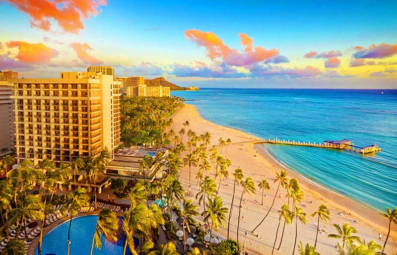 Hilton Hawaiian Village Waikiki Beach Information