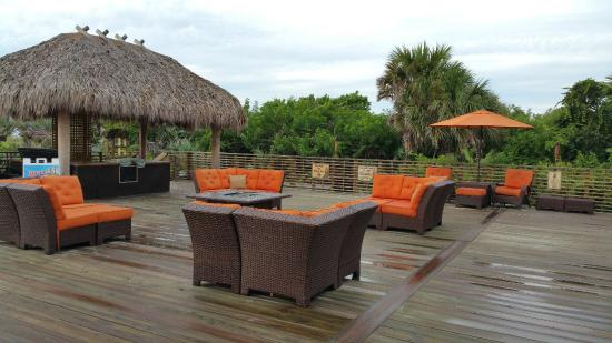 Hilton Cocoa Beach Deck